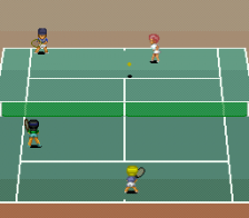 Smash Tennis ingame screenshot