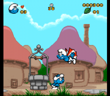 Smurfs, The ingame screenshot