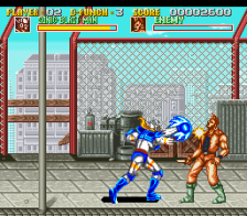 Sonic Blast Man ingame screenshot