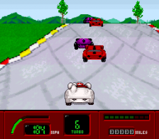 Speed Racer - in My Most Dangerous Adventures ingame screenshot