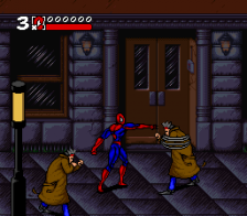 Spider-Man & Venom - Maximum Carnage ingame screenshot