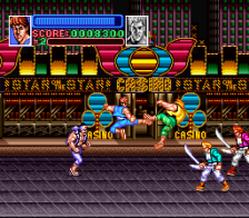 Super Double Dragon ingame screenshot