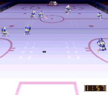 Super Ice Hockey ingame screenshot