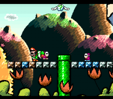 Super Mario World 2 - Yoshi's Island ingame screenshot