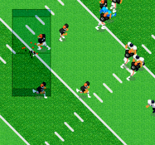 Super Play Action Football ingame screenshot