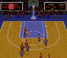Super Slam Dunk ingame screenshot