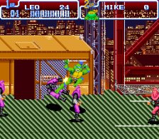 Teenage Mutant Ninja Turtles IV - Turtles in Time ingame screenshot