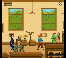Adventures of Tintin, The - Prisoners of the Sun ingame screenshot