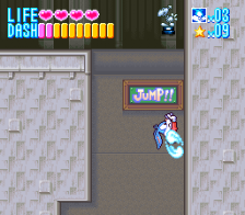Tiny Toon Adventures - Buster Busts Loose! ingame screenshot