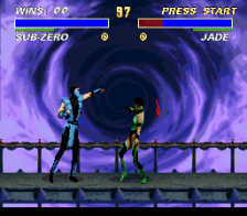 Ultimate Mortal Kombat 3 ingame screenshot