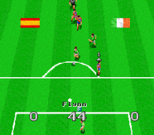 Virtual Soccer ingame screenshot