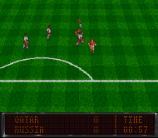 World Soccer 94 - Road to Glory ingame screenshot