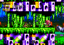 Knuckles' Chaotix ingame screenshot