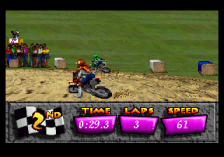 Motocross Championship ingame screenshot