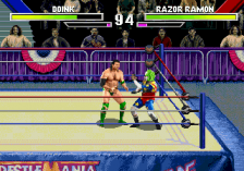 WWF WrestleMania - The Arcade Game ingame screenshot