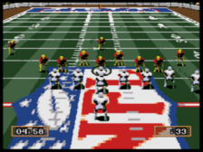 Joe Montana's NFL Football ingame screenshot