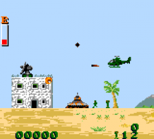 Choplifter III ingame screenshot