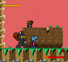 Itchy & Scratchy Game, The ingame screenshot