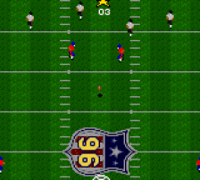 Madden NFL '96 ingame screenshot