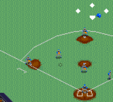Majors Pro Baseball, The ingame screenshot