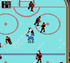 NHL All-Star Hockey ingame screenshot