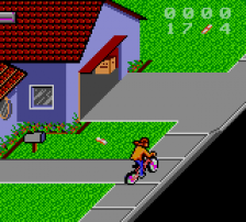Paperboy II ingame screenshot