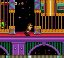 Taz in Escape from Mars ingame screenshot