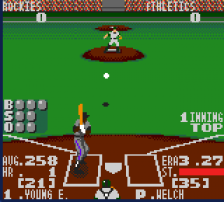 World Series Baseball ingame screenshot