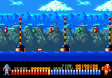 Aquatic Games Starring James Pond and the Aquabats, The ingame screenshot