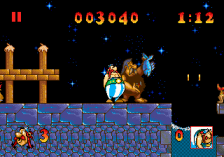 Asterix and the Great Rescue ingame screenshot