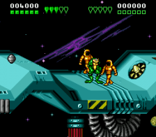 Battletoads and Double Dragon ingame screenshot