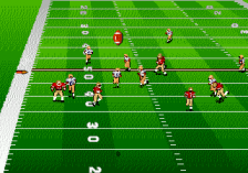 Bill Walsh College Football 95 ingame screenshot