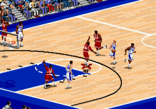 Coach K College Basketball ingame screenshot
