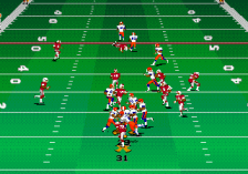 College Football USA 97 ingame screenshot