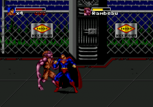Death and Return of Superman, The ingame screenshot