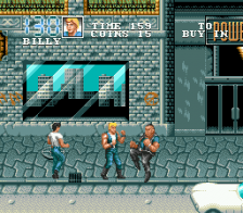 Double Dragon 3 - The Arcade Game ingame screenshot