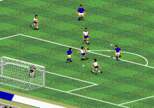 FIFA International Soccer ingame screenshot
