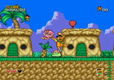 Flintstones, The ingame screenshot