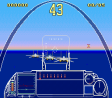 G-LOC Air Battle ingame screenshot