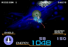 Galaxy Force II ingame screenshot