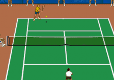 IMG International Tour Tennis ingame screenshot