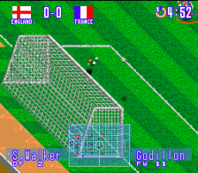International Superstar Soccer Deluxe ingame screenshot