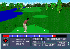 Jack Nicklaus' Power Challenge Golf ingame screenshot