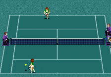 Jennifer Capriati Tennis ingame screenshot