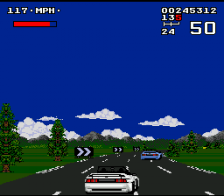 Lotus Turbo Challenge ingame screenshot