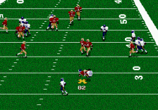 Madden NFL 96 ingame screenshot