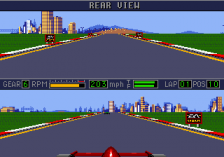 Mario Andretti Racing ingame screenshot