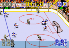 Mario Lemieux Hockey ingame screenshot
