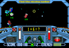 Math Blaster - Episode 1 ingame screenshot