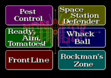 Menacer 6-Game Cartridge ingame screenshot